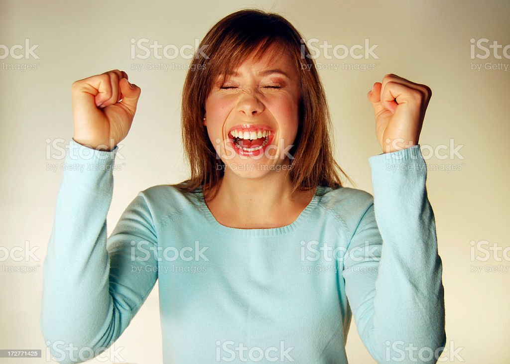 Yes! Made it! royalty-free stock photo