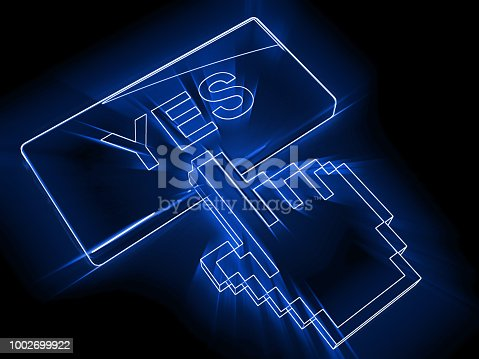 istock Yes ok button 1002699922