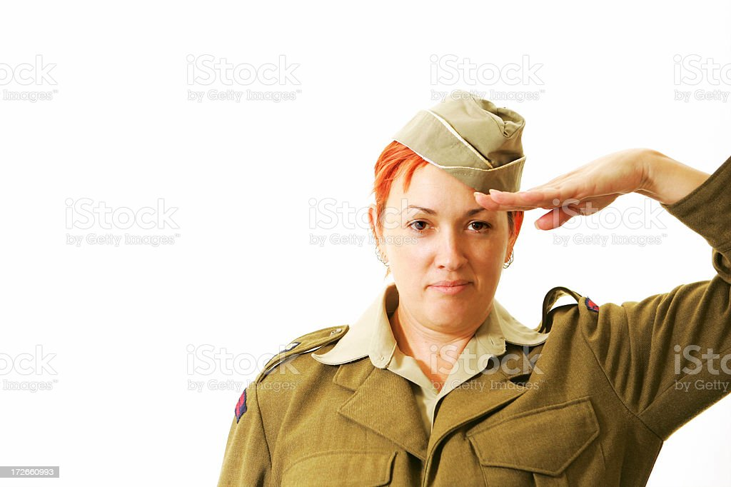 Yes Sir!, history royalty-free stock photo
