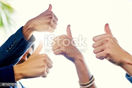 888892364istockphoto Yes, we approve! 971427076
