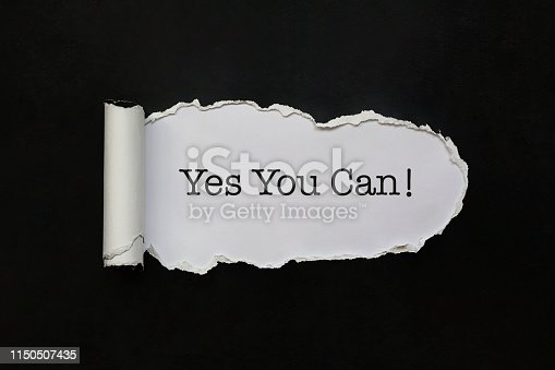 istock Yes you can 1150507435