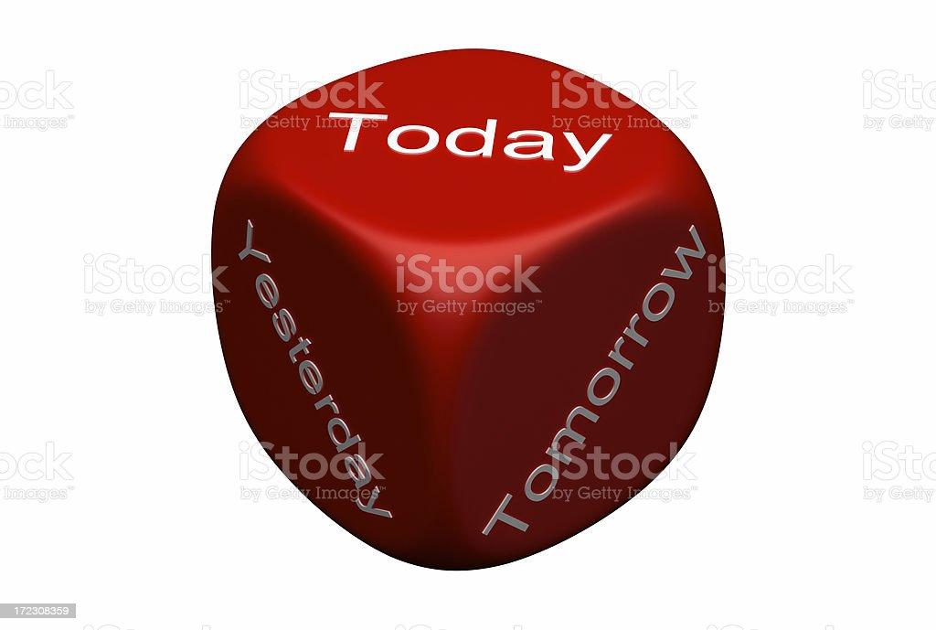 Yesterday, Tomorrow, Today royalty-free stock photo