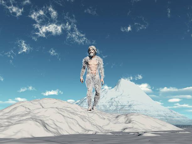 Yeti walking on snow with snow capped mountain in background picture id186350458?b=1&k=6&m=186350458&s=612x612&w=0&h=wgngnqwq7 foobszbzl pstrqzjiru2w9qqqg90vssa=