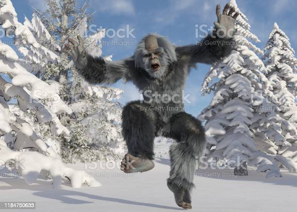 Yeti winter in the forest 3d illustration picture id1184750633?b=1&k=6&m=1184750633&s=612x612&h=ltjiz9watt0pw2i2opssjt8w zaksqqbyjjvxoh97yg=