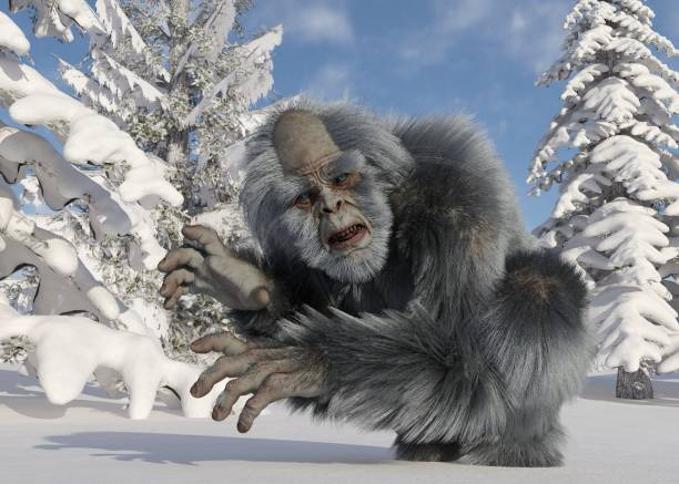 Yeti winter in the forest 3d illustration picture id1184750639?b=1&k=6&m=1184750639&s=612x612&w=0&h=yvm81hbm3i 7za6ewcykmjqvbb5j6okvy6i82id4itk=