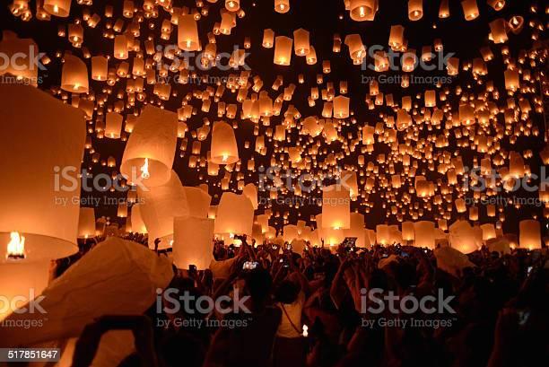 Yi peng firework festival in chiangmai thailand picture id517851647?b=1&k=6&m=517851647&s=612x612&h=kza1pprpccaybfzio1ciosmvqlmar xlt8l xw7ig 8=