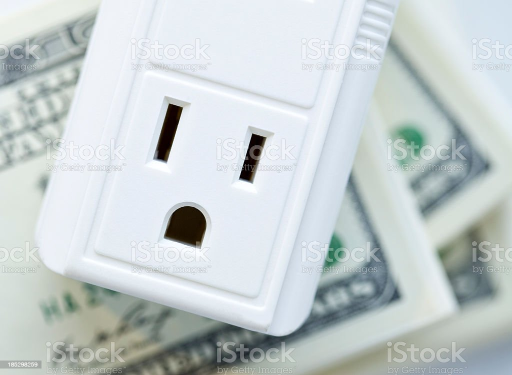 Yikes! Expensive Electricity royalty-free stock photo
