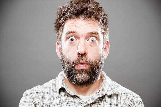 yikes - astonishment stock photos and pictures