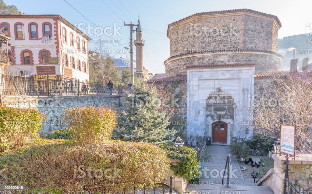 Yildrim Bayezid Hammam,Turkish Bath, in Mudurnu,Bolu,Turkey. zbiór zdjęć royalty-free