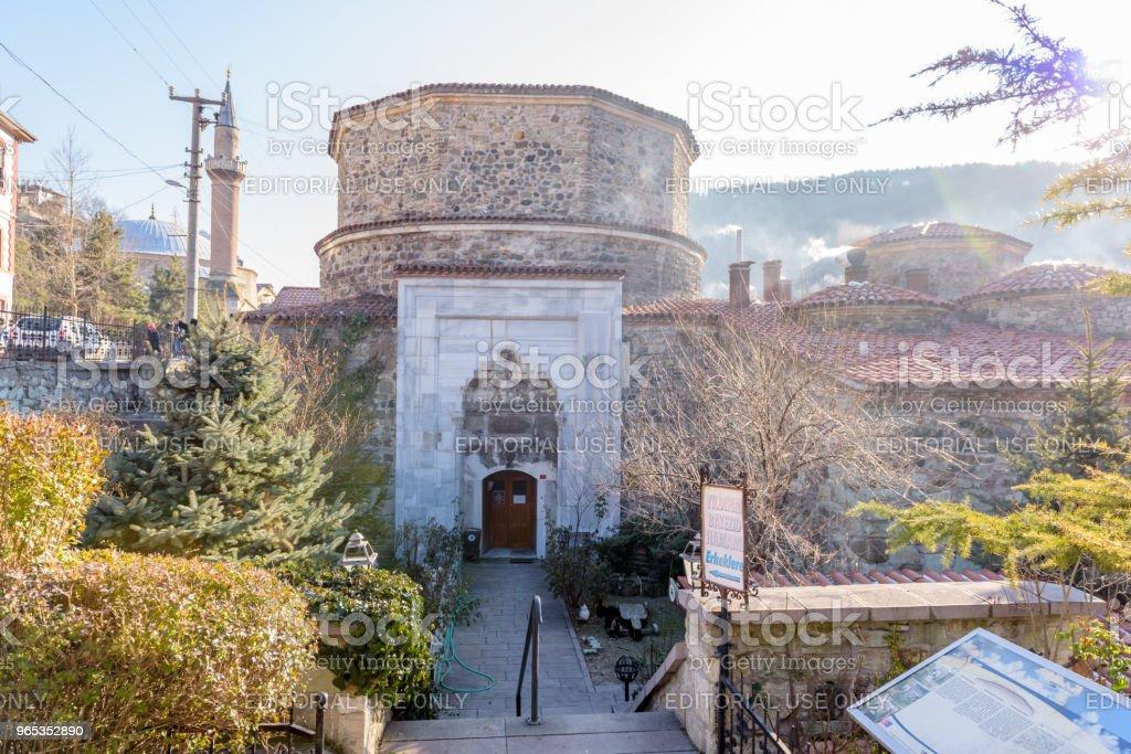 Yildrim Bayezid Hammam,Turkish Bath, in Mudurnu,Bolu,Turkey. royalty-free stock photo