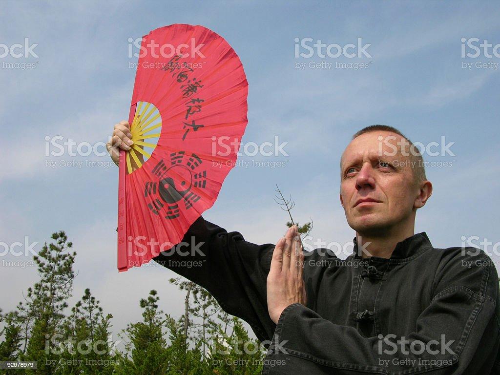 Yin and Yang (China) royalty-free stock photo