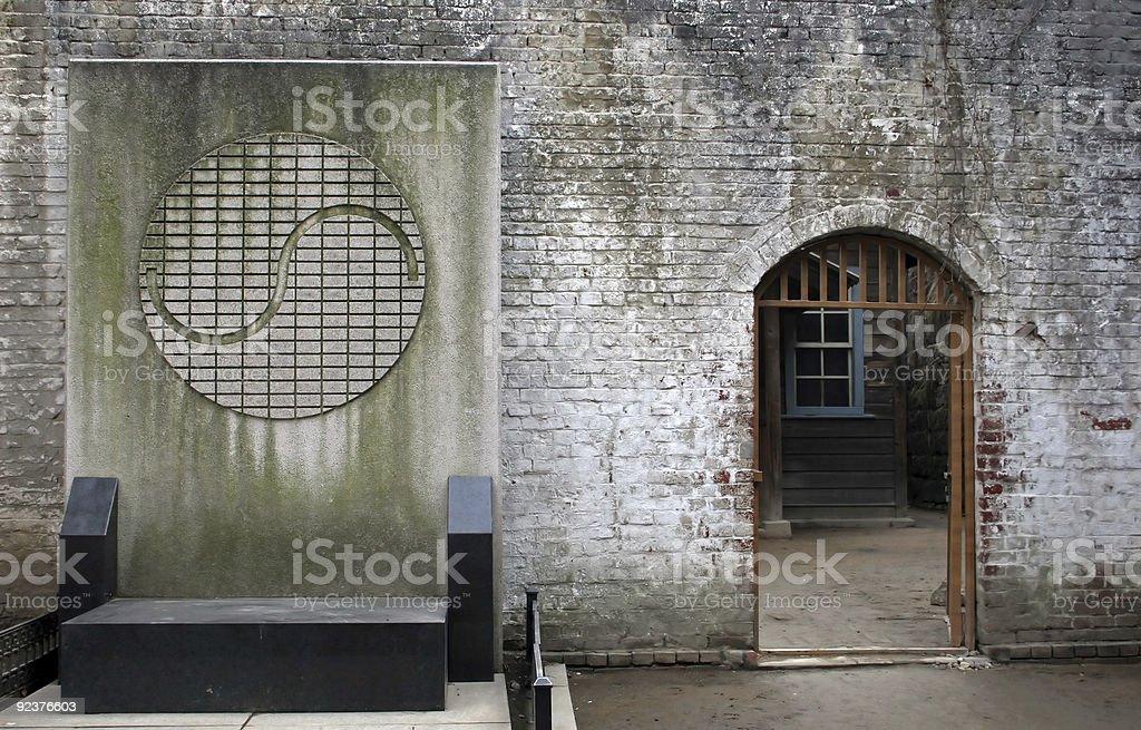 Yin and Yang symbol royalty-free stock photo