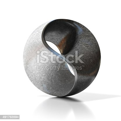 istock yin yang abstract modern sculpture 491763594