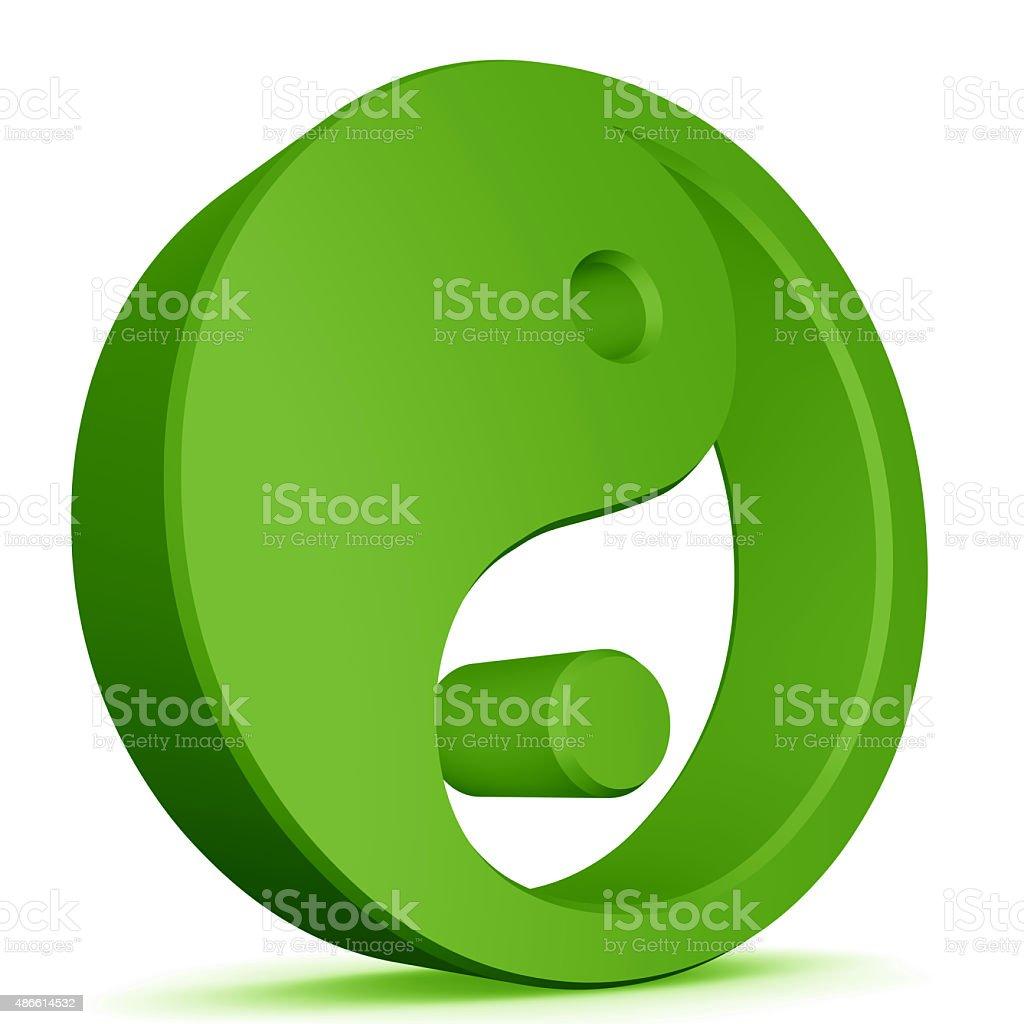 yin yang elements stock photo