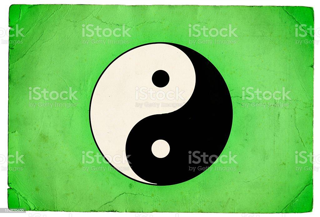 Yin Yang Symbol royalty-free stock photo