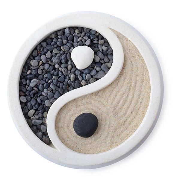 ying yang - yin yang symbol stock pictures, royalty-free photos & images