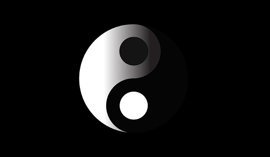 Ying Yang Stock Photo - Download Image Now - iStock
