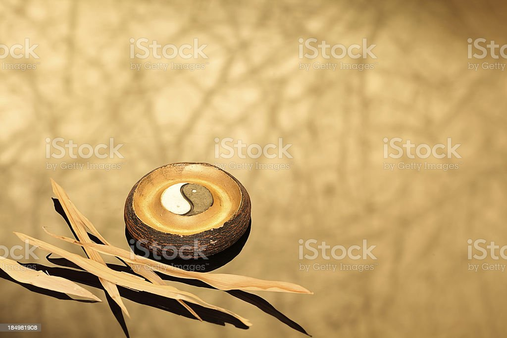 Ying-Yang stock photo