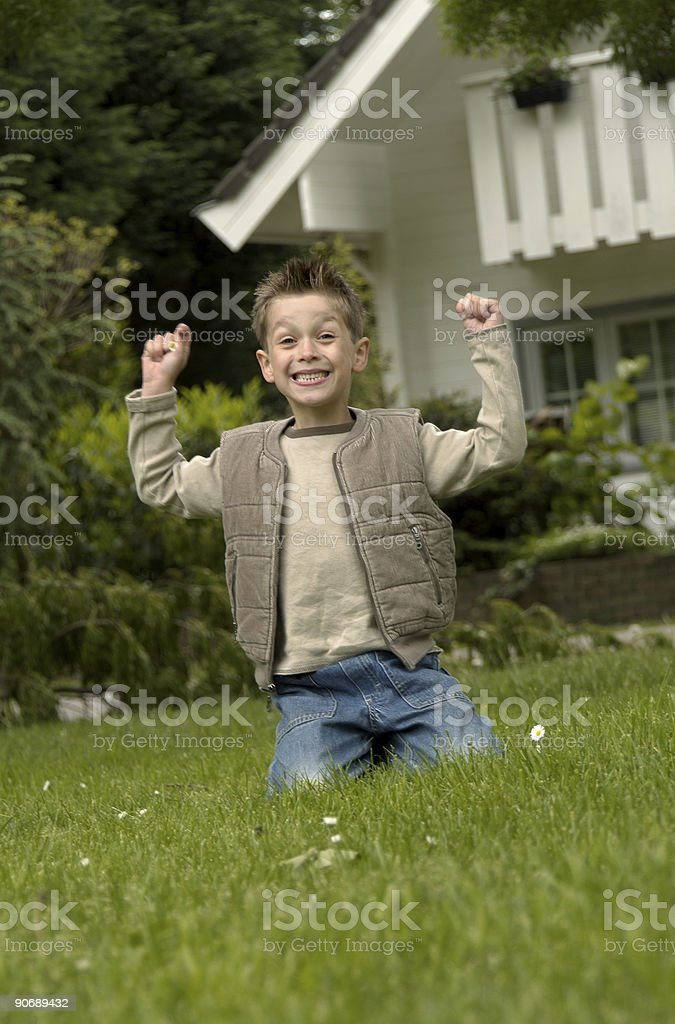 yippie!! royalty-free stock photo