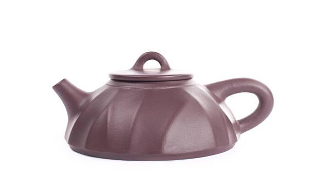 Yixing clay teapot stock photo
