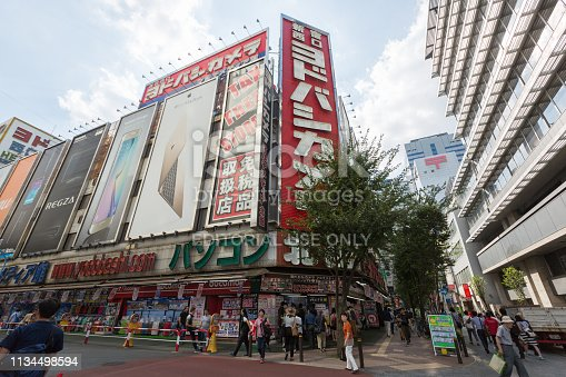 1202959798istockphoto Yodobashi Camera in Tokyo, Japan 1134498594