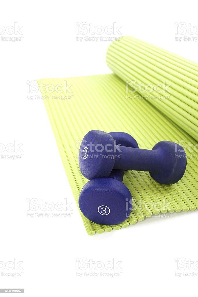 De Yoga et des équipements de remise en forme - Photo