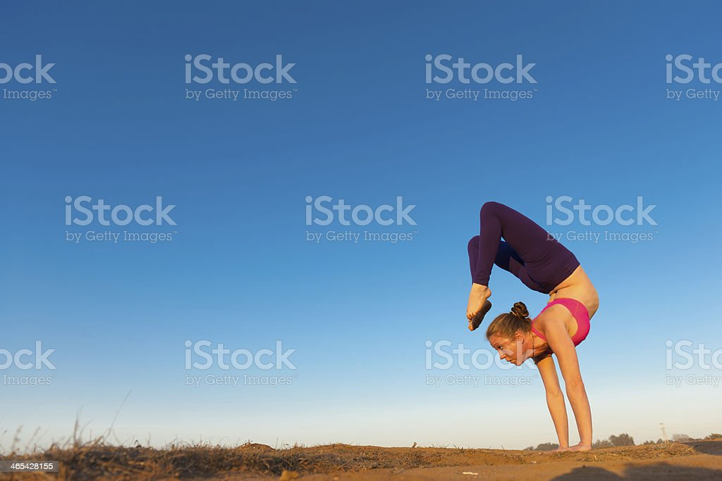Yoga Balance stock photo