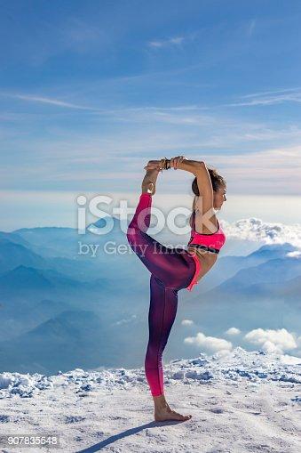 istock Yoga Beauty Meditation 907835548