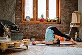 istock Yoga Body Exercises 1141207028