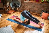 istock Yoga Body Exercises 1141208150