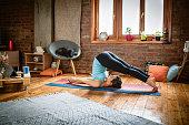 istock Yoga Body Exercises 1141208493