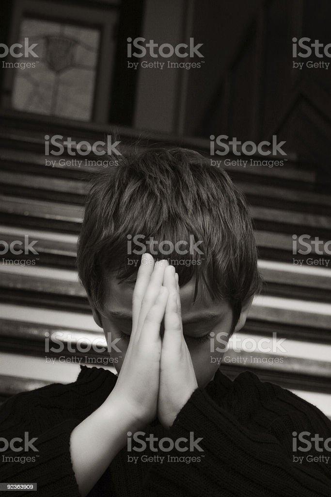 Yoga Child royalty-free stock photo