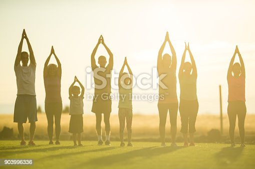 istock Yoga Class Stretching 903996336