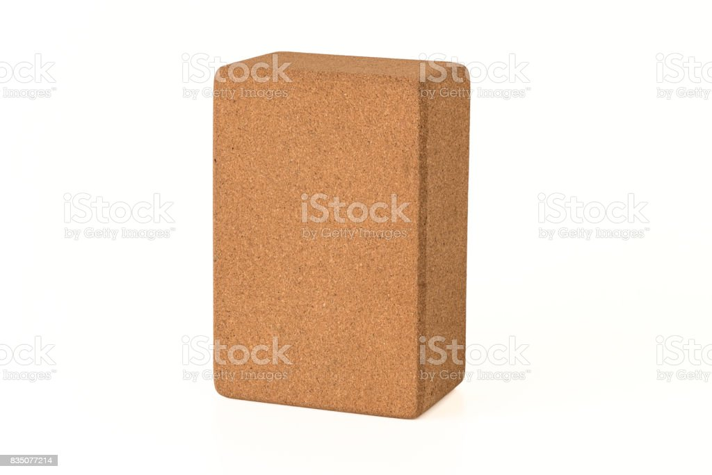 Yoga Cork Block, Eco Friendly Premium Quantity stock photo