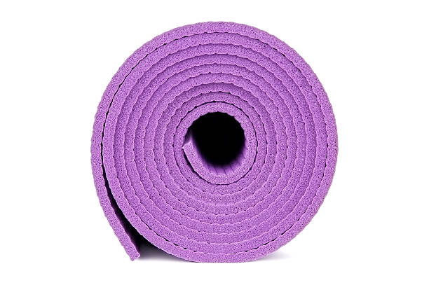 Yoga equipment stock photo