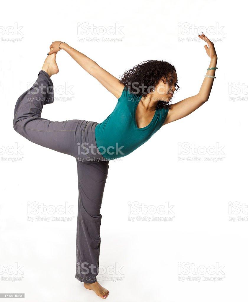 yoga for beginners stock photo