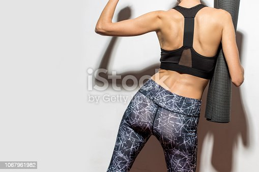 istock Yoga girl 1067961982