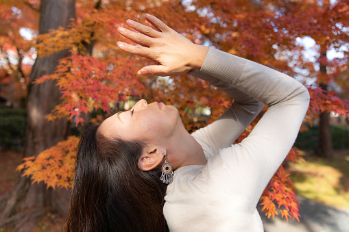 Yoga In Nature Stock Photo - Download Image Now - iStock