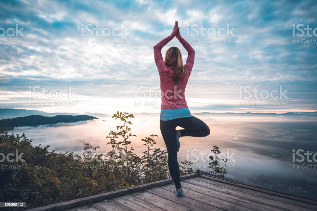 Yoga in der Natur – Foto