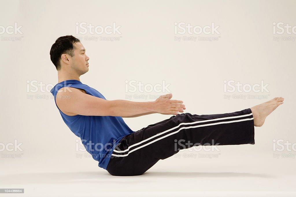 Yoga Instructor stock photo