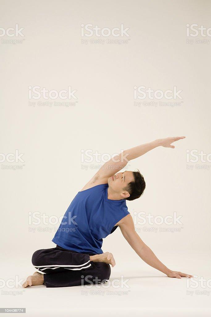 Yoga Instructor royalty-free stock photo