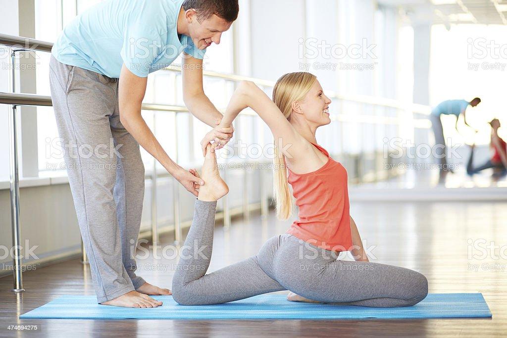 Profesor de Yoga - Foto de stock de Actividad libre de derechos