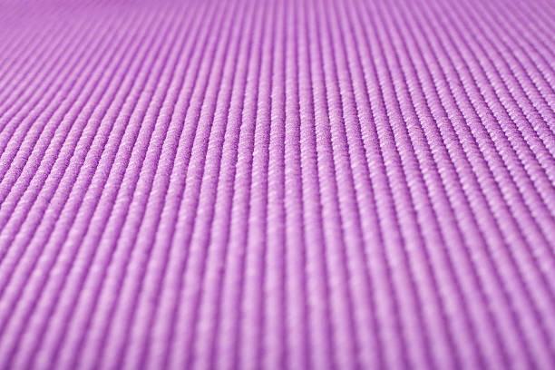 Yoga mat close up stock photo