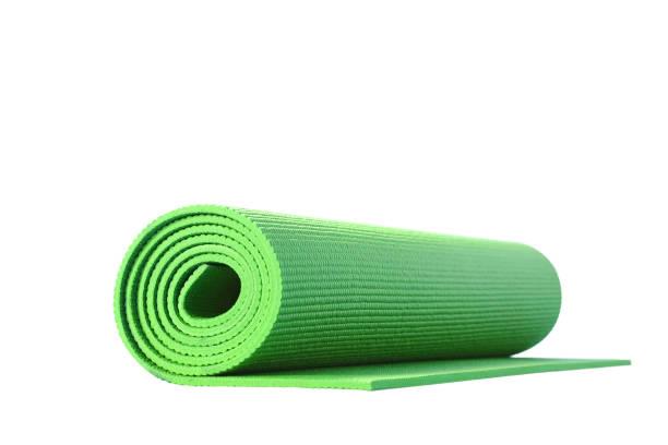 Yoga-Matte isoliert – Foto