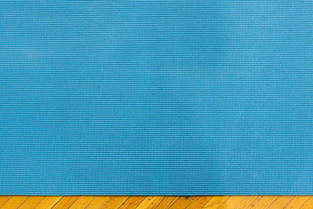 Yoga Mat Material Stock Photo