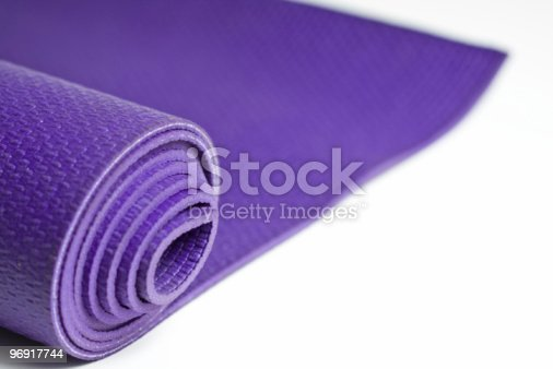Yoga Mat Stock Photo & More Pictures of Color Image