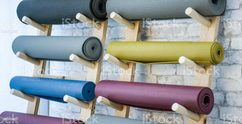 Yoga Mats royalty-free stock photo