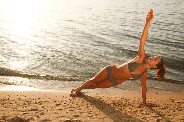 Yoga am Strand – Foto