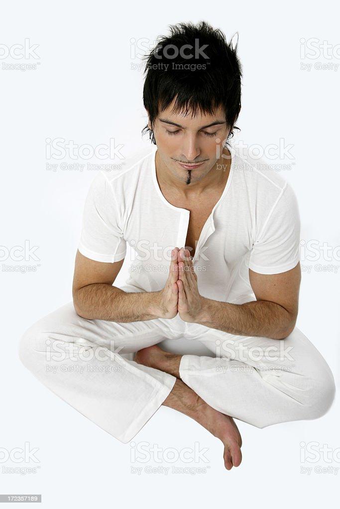 Clase de Yoga foto de stock libre de derechos
