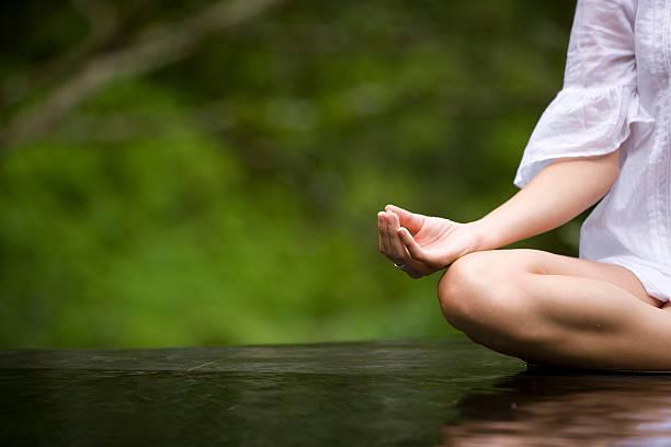 de yoga - technique photographique photos et images de collection